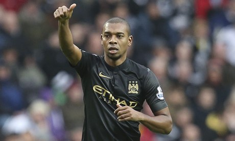 Fernandinho of Manchester City
