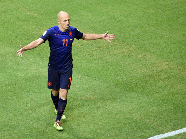 arjen robben holland